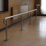 school stainless steel handrail