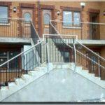 outdoor handrail stainless steel stairwell globe