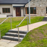 Stainless Steel Step Handrails