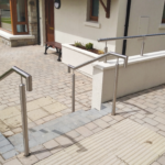 Stainless Steel Wall & Step Handrails