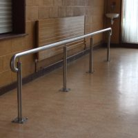 school stainless steel handrail